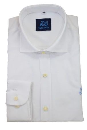 Camisa Blanca Oxford cuello italiano